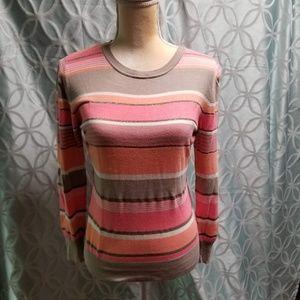 Studio works misses sweater size medium